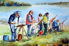 Malen am Bodensee