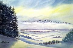 Winterliches Salemertal