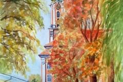 Herbstliche Stille an Birnau