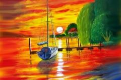 Sunset-Maurach-Acryl