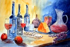 29-Stillleben-mit-Wein&Brot