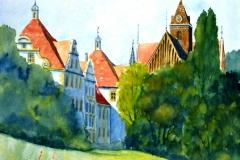 032-Schloss-Salem-mit-Gladiolen