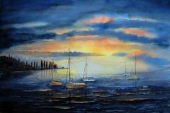 25-Boote-im-Abendlicht