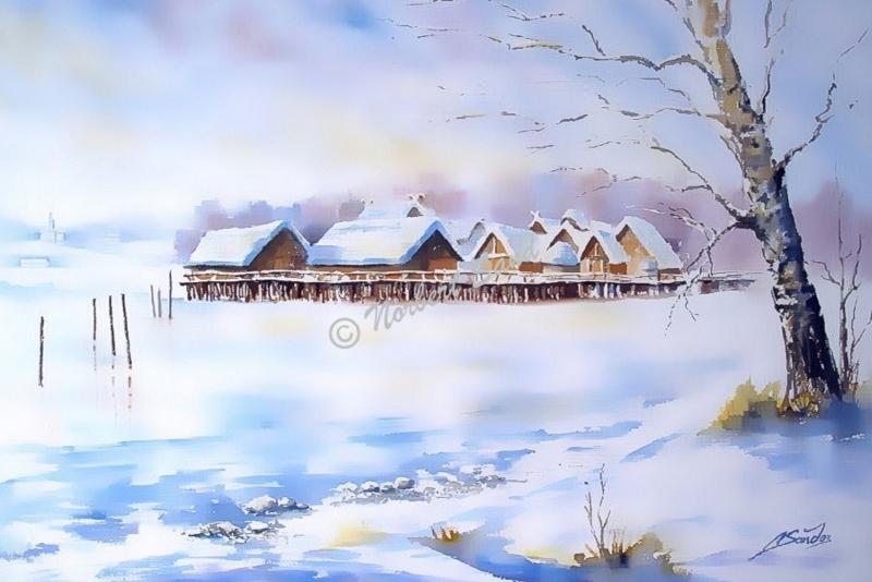 01-Winterliche-Pfahlbauten-