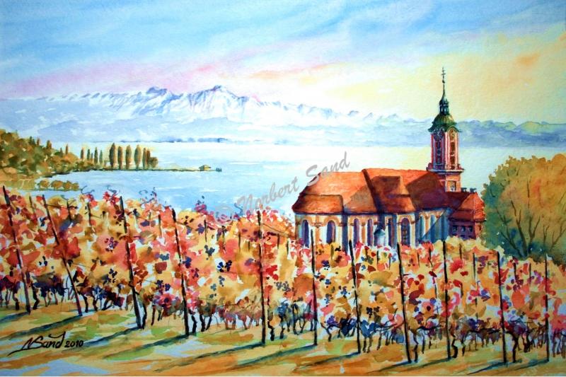 Herbstliche Birnau