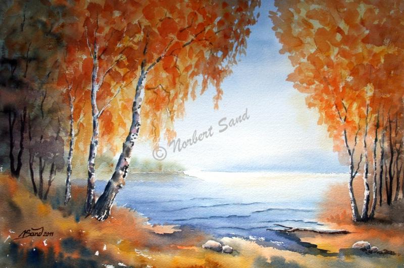Schönheit des Herbstes