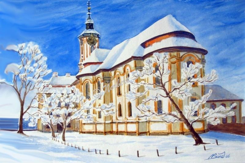Birnau im Winterkleid