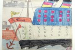 Fährschiff nach Borkum