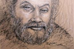 12-Ivan-Rebroff - Kohle-Porträt