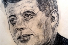 25-J.F.Kennedy - Grafit