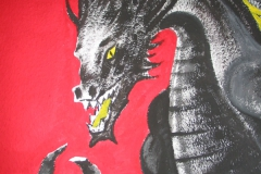 Drachen-Detail
